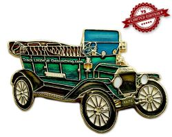 Ford Model T Geocoin - Brewster Green XLE 75