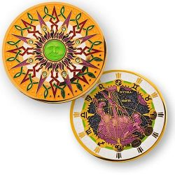 Compass Rose Geocoin 10th Anniversary - Carina