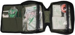 Large First Aid Kit (incl. bag) Molle