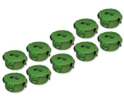 10 Pieces CacheBox Forest round S120 - SPECIAL PACK