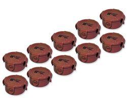 10 Stück CacheBox Wood rund S120 - SPARPACK