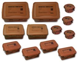 Cachebehälter Set Deluxe Wood (12 Geocaching Dosen)