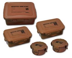 Cache Container Set ECO Wood (5 boxes)