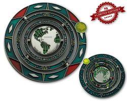 Geocaching Universe Geocoin - GALAXY (drehbar) XLE 75