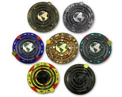 Geocaching Universe Geocoin Sammler SET (7 Coins)
