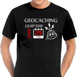 Geocaching T-Shirt | Leap Day  Geocaching  (optional with Teamna