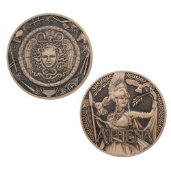 Greek Gods Geocoin - Athena