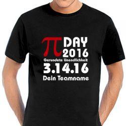 Pi-Day T-Shirt 2016 in vielen Farben