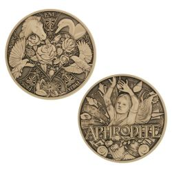 Greek Gods Geocoin - Aphrodite