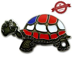 GeoTurtle Nation Geocoin - Mr. America XLE 50