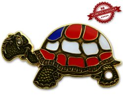 GeoTurtle Nation Geocoin - Mrs. America XLE 50
