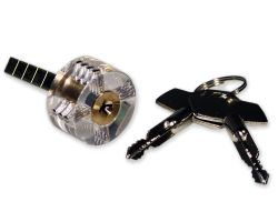 Geocaching practice lock for professionals