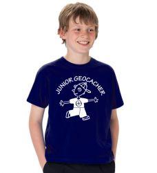 Geocaching T-Shirt | Junior Cacher Junge - viele Farben