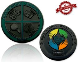 Geocaching - All In One Geocoin 2016 Black Nickel XLE 75