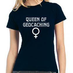 Geocaching T-Shirt | Queen of Geocaching