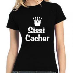 Geocaching T-Shirt | Sissi Cacher