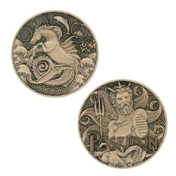 Greek Gods Geocoin - Poseidon