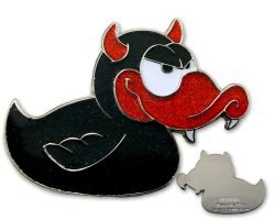 Devil-Duck Geocoin - Dracula
