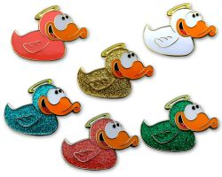 Angel-Duck Geocoin Sammler Set (6 Geocoins)