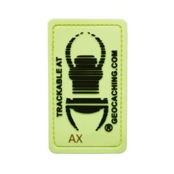 Travel Bug® Patch Glow In The Dark trackbar