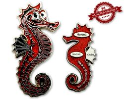 Seahorse Geocoin - Helena XLE 50