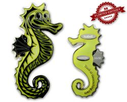 Seahorse Geocoin - Isabell XLE 50 (GLOW)