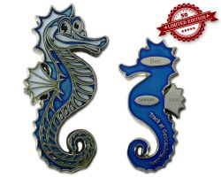 Seahorse Geocoin - Ben XLE 50