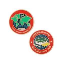 2016 International Geocaching Day - Geocoin