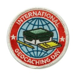 2016 International Geocaching Day - Aufn?her / Aufb?gler / Patch