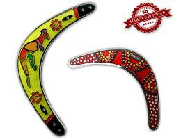 Boomerang Geocoin - Lemon XLE 50