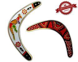 Boomerang Geocoin - Pearl XLE 50