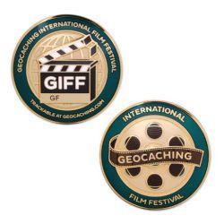 GIFF (Geocaching Film Festival) Geocoin