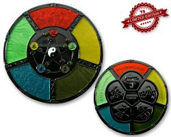 Feng Shui Geocoin Black Nickel XLE 75