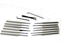 Lockpicking Set PROFESSIONAL (15-pcs)