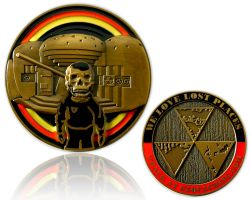 We Love Lost Places Geocoin German Edition