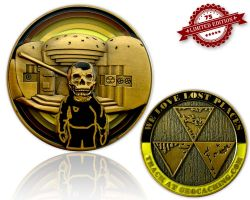 We Love Lost Places Geocoin Shiny Edition XLE 75