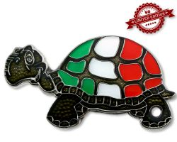 GeoTurtle Nation Geocoin - Mr. Italy XLE 50