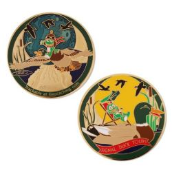 Signal Duck Tour Geocoin - Limited Edition