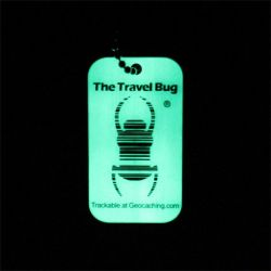 Geocaching QR Travel Bug? - Glow in the Dark