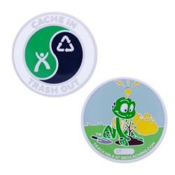Cache in Trash Out Geocoin - Signal