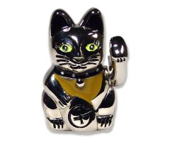 Beckoning Cat Geocoin Figure - Lucky Kitty Edition (incl. Copytag)