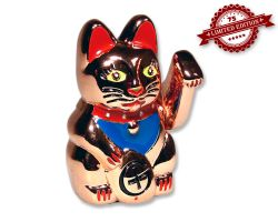 Winkekatze Geocoin Figur - Lovely Kitty Edition (inkl. Copytag) XLE 75