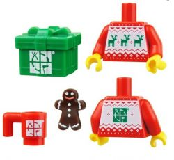 LEGO Winter / Weihnachten Geocaching Kit (4-tlg.)