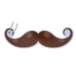 Take a Stachie Travel Tag - Braun