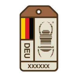 Travel Bug? Origins Aufkleber - Deutschland