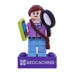 Hidey Finder LEGO figure - trackable