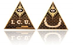 ICU Geocoin Antik Gold
