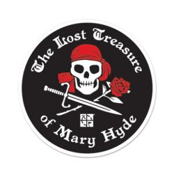 The Lost Treasure of Mary Hyde - Aufkleber (64 mm)