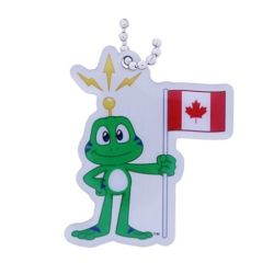 Canada Travel Tag - Where in the world is Signal the Frog®?