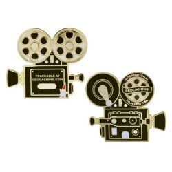 GIFF (Geocaching Film Festival) 2017 - Geocoin inkl. Travel Tag Set
